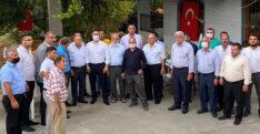 KAŞIKÇI, DEFNE'DE MAHALLE ZİYARETLERİNE HIZ VERDİ