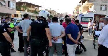 YUNUS EKİBİ KAZA YAPTI 2 POLİS YARALANDI