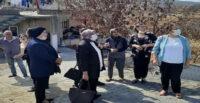 MHP HATAY  KADIN KOLLARINDAN YANGIN  MAĞDURLARINA MORAL ZİYARETİ