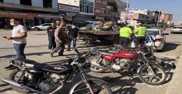 KIRIKHAN'DA MOTOSİKLET SÜRÜCÜLERİNE YÖNELİK DENETİM YAPILDI