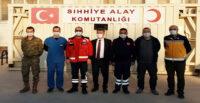 HAMBOLAT'TAN CİNDERES'E MORAL ZİYARETİ