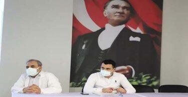 HATAY DEVLET HASTANESİNDE COVİD-19 TOPLANTISI