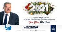 2021 YILINDA TÜM DÜNYAYA SAĞLIK, HUZUR VE MUTLULUK TEMENNİ EDİYORUM