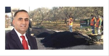 ALTINÖZÜ BELEDİYESİ'İNDEN KANSU MAHALLESİNE SICAK ASFALT