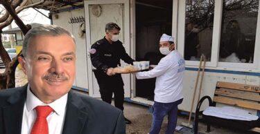 BAŞKAN YILMAZ'DAN KONTROL NOKTALARINDAKİ POLİS VE JANDARMALARA JEST