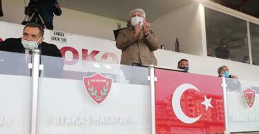 VALİ DOĞAN'DAN A.HATAYSPOR'A DESTEK