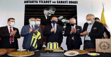 ALİ KOÇ HATAY'A HAYRAN KALDI