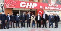 ATSO BAŞKANI ÇİNÇİN'DEN CHP'YE ZİYARET