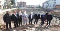 VALİ DOĞAN KIRIKHAN'DA İNCELEMELERDE BULUNDU