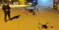 DRONE DESTEKLİ ASAYİŞ UYGULAMASI YAPILDI