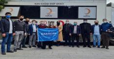 DEVA PARTİSİ'NDEN KIZILAY'A KAN DESTEĞİ