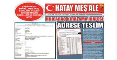 "HBB ARAÇ KİRALAMA İHALESİNİ ""EFATUR"" KAZANDI"