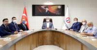 MESLEKİ EĞİTİM MERKEZİ PROJESİ TOPLANTISI İSTE'DE YAPILDI