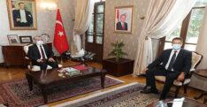 AB KOMİSYONU ÜYESİ LENARCİC'DEN VALİ DOĞAN'A ZİYARET
