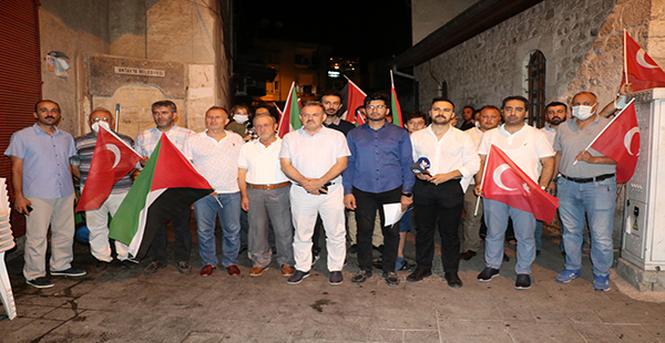 FANATİK YAHUDİLERİN MESCİD'İ AKSA'YA SALDIRILARI PROTESTO EDİLDİ