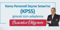 KPSS'YE  GİRECEK ADAYLARA BAŞARILAR DİLİYORUM