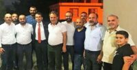 MİLLETVEKİLİ TOPAL, GÜNEYSÖĞÜT MAHALLE MUHTARI ÖZKAN'I ZİYARET ETTİ
