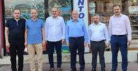 MİLLETVEKİLİ ÖZEL VE BAŞKAN TOSYALI'DAN, İBRAHİM YAVUZ'A ZİYARET