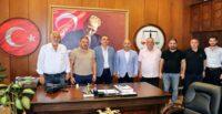 HGC'DEN HATAY BAROSU'NA NEZAKET ZİYARETİ