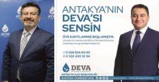 DEVA ANTAKYA'DA ÜYE KAYITLARI DEVAM EDİYOR