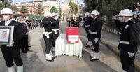 POLİS MEMURU İNAYET AKIN MEMLEKETİNE UĞURLANDI