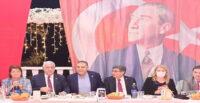 CHP'Lİ İLÇE GÖREVLİLERİ ARSUZ'DA BULUŞTU