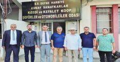 İYİ'LERDEN DEFNE ESNAFINA ZİYARET